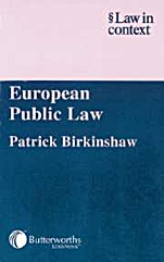 European Public Law - ISBN 9780406942883