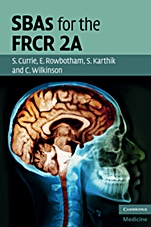 SBAs for the FRCR 2A - ISBN 9780521156448