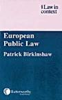European Public Law - ISBN 9780406942883