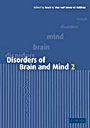 Disorders of Brain and Mind - ISBN 9780521004565