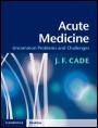 Acute Medicine - ISBN 9780521189415