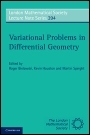 Variational Problems in Differential Geometry - ISBN 9780521282741