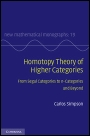 Homotopy Theory of Higher Categories - ISBN 9780521516952