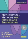 Mathematical Methods for Physics and Engineering - ISBN 9780521679718