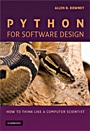 Python for Software Design - ISBN 9780521725965