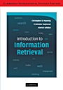 Introduction to Information Retrieval International Student Edition - ISBN 9780521758789