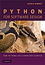 Python for Software Design - ISBN 9780521898119