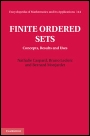 Finite Ordered Sets - ISBN 9781107013698