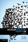 Australian Intellectual Property Law - ISBN 9781107472297