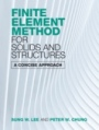 Finite Element Method for Solids and Structures - ISBN 9781108497091