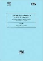 Control Applications in Marine Systems 2004 - ISBN 9780080441696