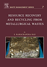 Resource Recovery and Recycling from Metallurgical Wastes - ISBN 9780080451312