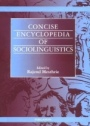 Concise Encyclopedia of Sociolinguistics - ISBN 9780080437262