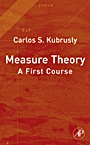 Measure Theory: A First Course - ISBN 9780123708991