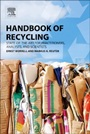 Handbook of Recycling: State-of-the-art for Practitioners, Analysts, and Scientists - ISBN 9780123964595