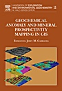Geochemical Anomaly and Mineral Prospectivity Mapping in GIS - ISBN 9780444513250