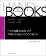 Handbook of Macroeconomics - ISBN 9780444594693