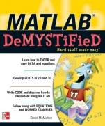 MATLAB DEMYSTIFIED - ISBN 9780071485517
