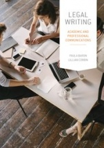 Legal Writing: Academic and Professional Communication - ISBN 9780195593938