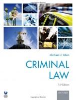 Criminal Law: Fourteenth Edition - ISBN 9780198788676