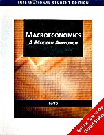Macroeconomics: A Modern Approach - ISBN 9780324545678