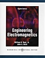 Engineering Electromagnetics, 8 Rev ed. - ISBN 9780071089012