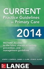 Current Practice Guidelines in Primary Care 2014, 12 Rev ed. - ISBN 9780071818247