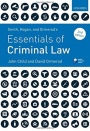 Smith, Hogan, & Ormerods Essentials of Criminal Law, Second Edition - ISBN 9780198788683