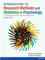Introduction to Research Methods and Statistics in Psychology: A Practical Guide for the Undergradua - ISBN 9780273735069