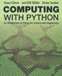 Computing with Python - ISBN 9780273786436