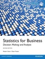 Statistics for Business: Decision Making and Analysis, International ed of 2nd revised ed. - ISBN 9780321890597