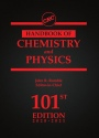 CRC Handbook of Chemistry and Physics, 101st New edition - ISBN 9780367417246