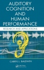 Auditory Cognition and Human Performance: Research and Applications - ISBN 9780415325943