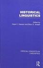 Historical Linguistics - ISBN 9780415454438