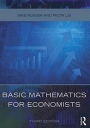 Basic Mathematics for Economists - ISBN 9780415485920