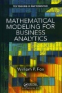 Mathematical Modeling for Business Analytics - ISBN 9781138556614