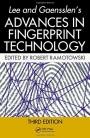 Lee and Gaensslens Advances in Fingerprint Technology - ISBN 9781420088342