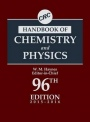 CRC Handbook of Chemistry and Physics, 96 Rev ed. - ISBN 9781482260960