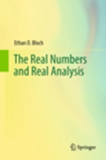 The Real Numbers and Real Analysis - ISBN 9780387721767