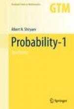 Probability-1 - ISBN 9780387722054