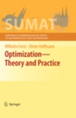 Optimization—Theory and Practice - ISBN 9780387789767