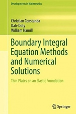 Boundary Integral Equation Methods and Numerical Solutions: Thin Plates on an Elastic Foundation - ISBN 9783319263076