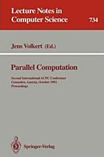 Parallel Computation - ISBN 9783540573142