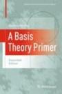 A Basis Theory Primer - ISBN 9780817646868