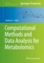 Computational Methods and Data Analysis for Metabolomics - ISBN 9781071602386