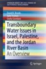 Transboundary Water Issues in Israel, Palestine, and the Jordan River Basin - ISBN 9789811502514