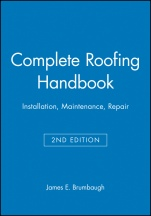 Complete Roofing Handbook: Installation, Maintenance, Repair - ISBN 9780025178519