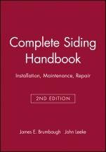 Complete Siding Handbook: Installation, Maintenance, Repair - ISBN 9780025178816