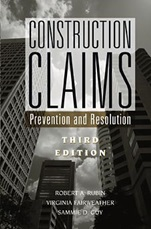 Construction Claims: Prevention and Resolution - ISBN 9780471348634