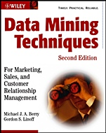 Data Mining Techniques; For Marketing, Sales, and Customer Relationship Management - ISBN 9780471470649